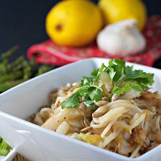 Lemony Cabbage And Pasta ~vegan, Gf~
