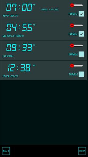 j5 Alarm Clock screenshot 2