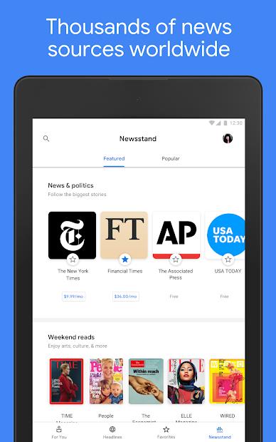 Google News: Top World & Local News Headlines screenshot 14