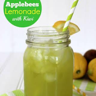CopyCat Applebee's Lemonade with Kiwi.