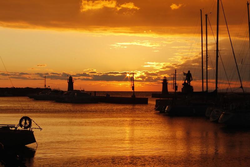 Fari al tramonto di Elena Mantovani