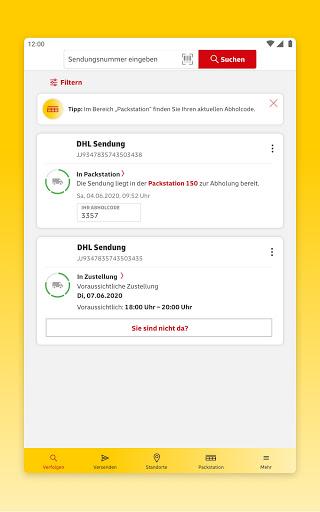DHL Paket  screenshots 18