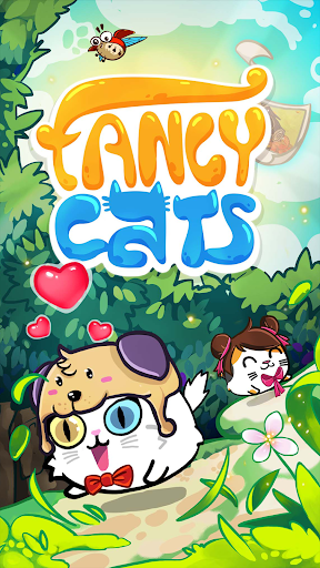 Fancy Cats - Cute cats dress up and match 3 puzzle 3.3.6 screenshots 12