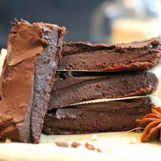 Raw Brownie Ganache Bites.