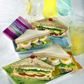 Zweierlei Sandwiches