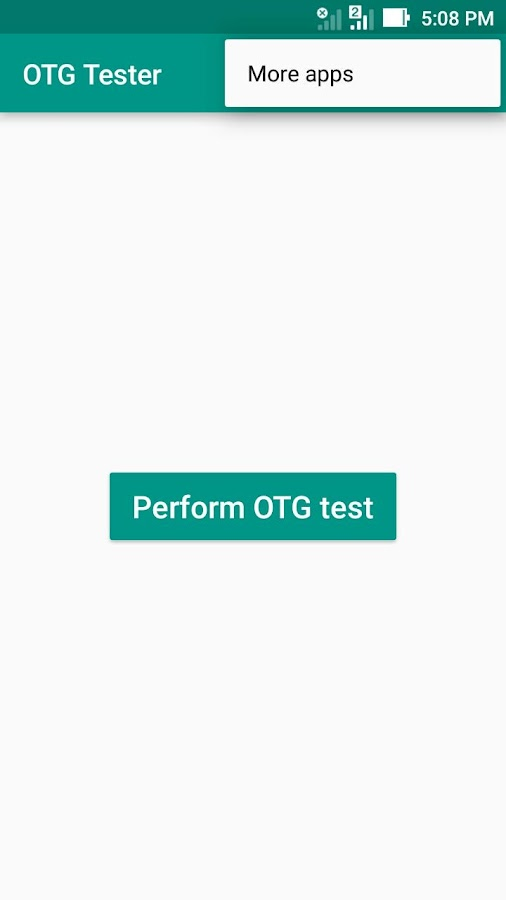 USB OTG Tester- screenshot