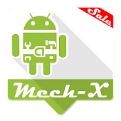 Mech-X for Zooper Widget Pro