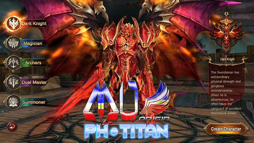 MU Origin-PH Titan 7.0 Online (Free Diamonds) for PC
