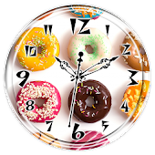 Donut Clock Live Wallpaper