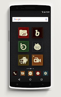 Icon Pack - Texture leather Screenshot