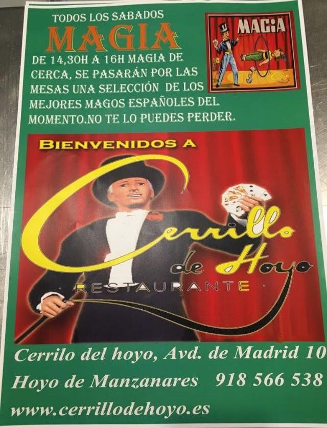 Cartel Los mejores magos españoles del momento