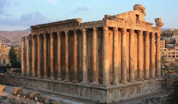 Templo de Baco, em Baalbek