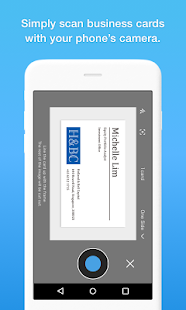 Eight - Manage Business Cards Screenshot
