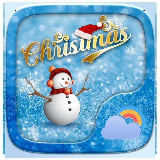 Christmas GO Weather Widget Theme