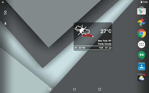 Boxy Clock Widget- screenshot thumbnail