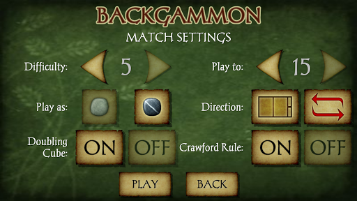 Backgammon Free screenshot 4