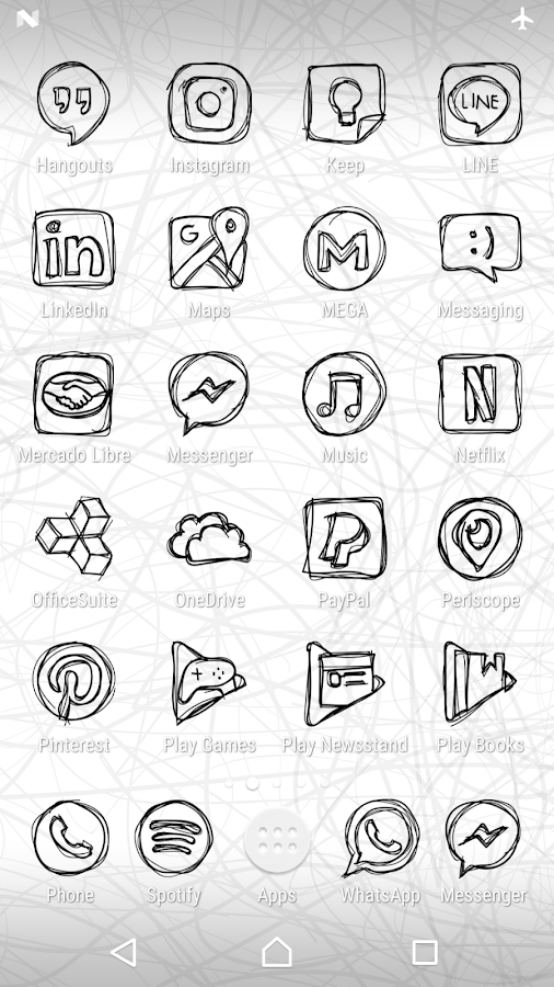 Strokes - Icon Pack- screenshot