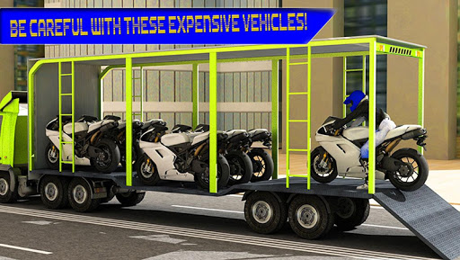 Urban Truck Transport Bikes 3D