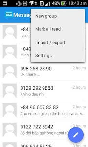 Messaging SMS Pro v1.0.02