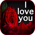 I love you flowers images GIF & rose HD wallpapers APK
