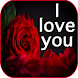 I love you flowers images GIF & rose HD wallpapers - Androidアプリ