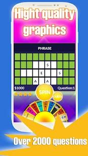 Wheel of words screenshot