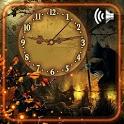 Halloween Scary Clock Live Wallpaper icon