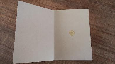 Photo: 二つ折りカード 6 (vegetable)〈中〉
