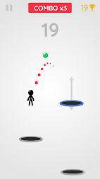 Tramp Land - Stickman Jump Arcade APK screenshot thumbnail 4