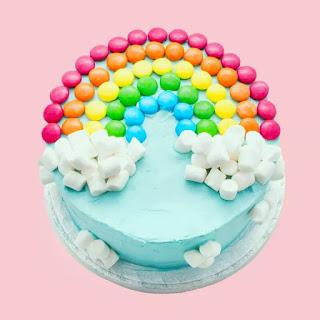 The Ultimate Rainbow Cake Recipe