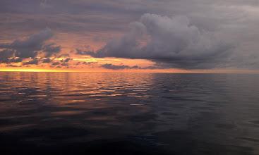 Photo: Sunrise over the Bahama Banks #3 - June 4, 2013