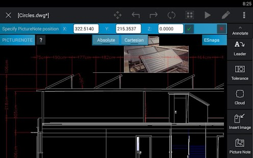 CorelCAD Mobile- screenshot thumbnail