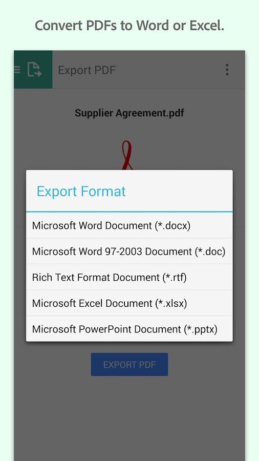 Adobe Acrobat Reader - screenshot