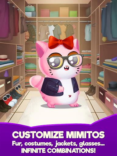 My Cat Mimitos 2 u2013 Virtual pet with Minigames apkpoly screenshots 10