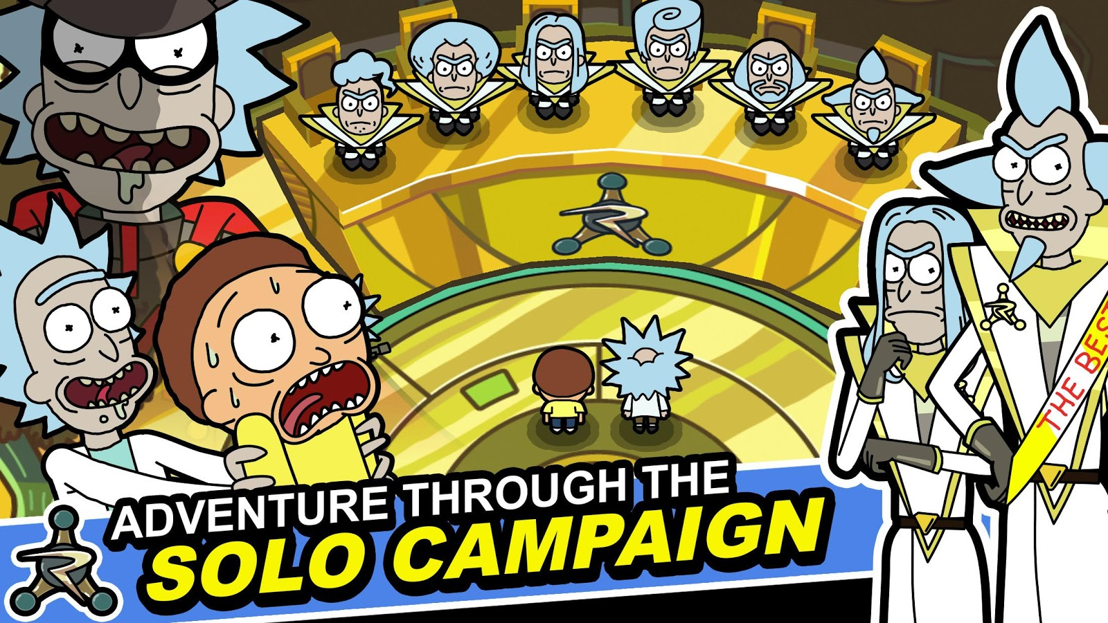 Pocket Mortys– снимак екрана