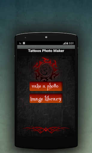 Tatuatges Photo Maker