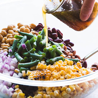 Charred Corn and Bean Salad Recipe
