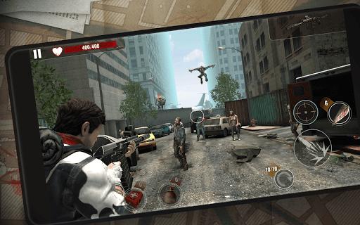 ZOMBIE SHOOTING SURVIVAL: Offline Games apkdebit screenshots 10