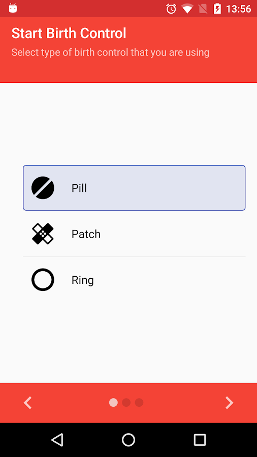 Pill Reminder / Birth Control- screenshot