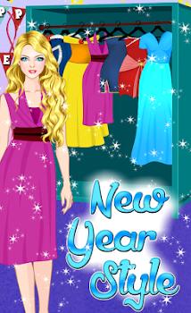 Princess Makeup New Year Style
