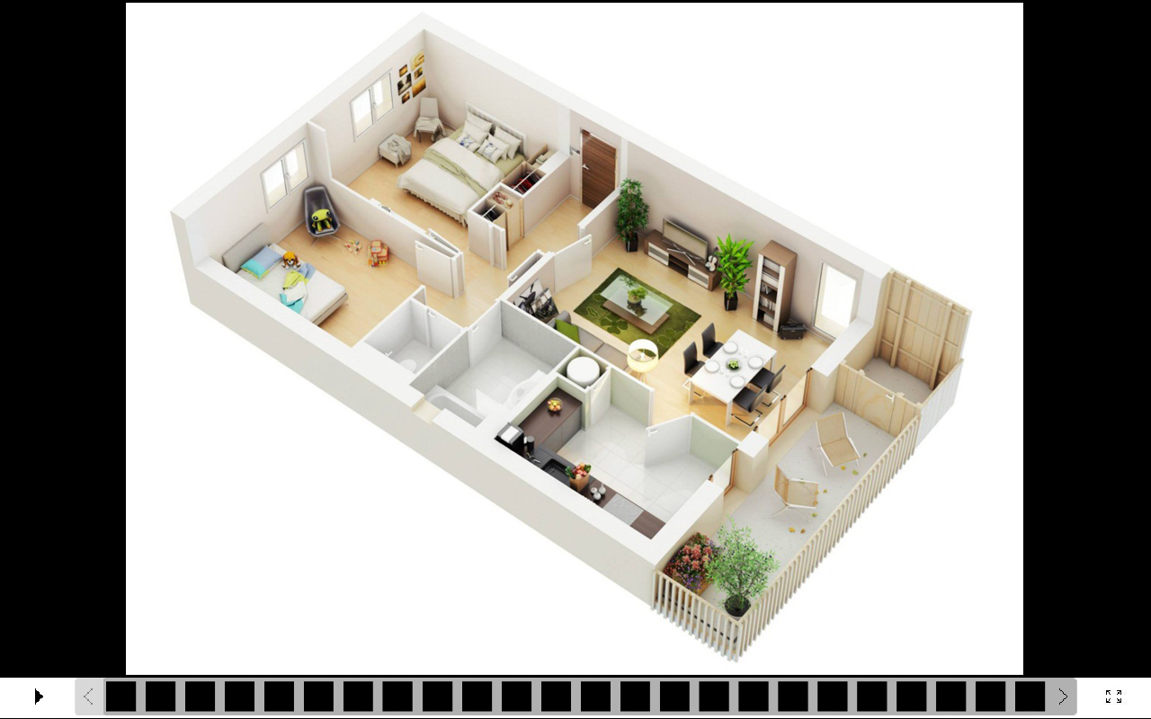 Interior design your house - 3d House Design Screenshot