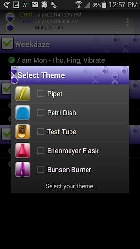 Timeriffic screenshot 17