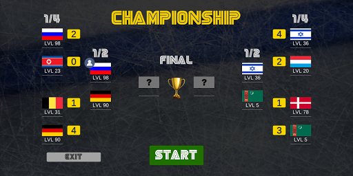 Table hockey fever 2 IIHF Championship Timekiller 0.015 screenshots 2