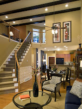 Photo: The two-story living area in our MORGAN model townhome at Greyledge Estates in Albany, NY