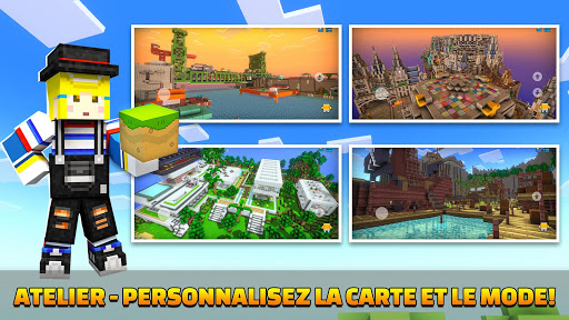 Code Triche Cops N Robbers - FPS Mini Game mod apk screenshots 4