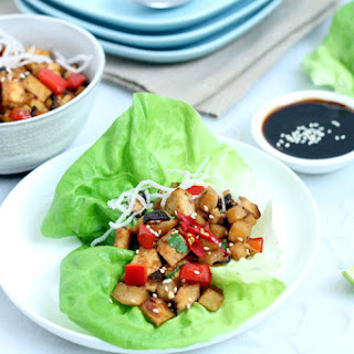 Vegan Lettuce Wraps.