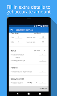 UK Salary Calculator - náhled