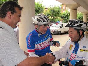 Photo: Con Carmelo Parro, concejal de deportes