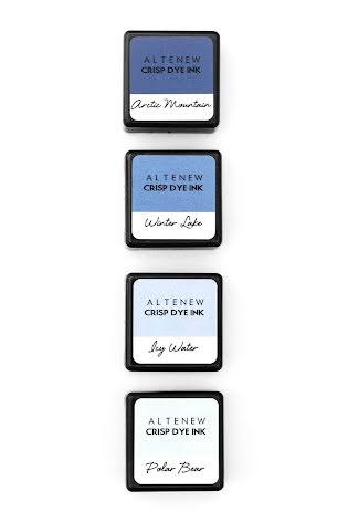 Altenew Dye Inks 4 Mini Cube Set - Northern Shore