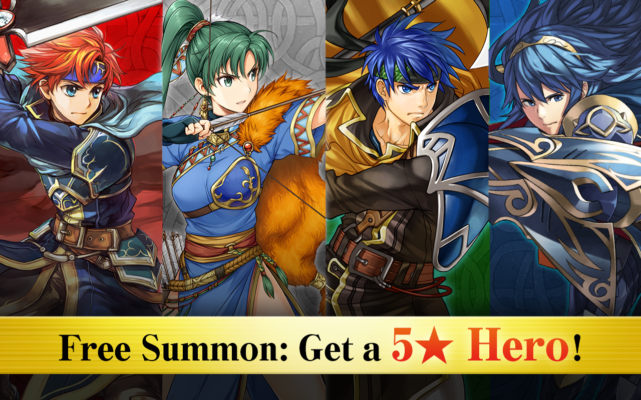 Fire Emblem Heroes- หน้าจอ